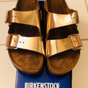 Birkenstock Arizona BS women's 39 (8) , metallic